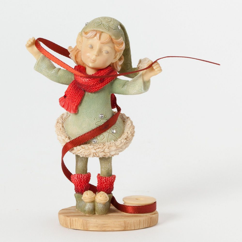 Heart of Christmas - Elf with Ribbon